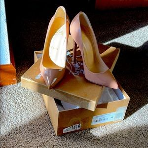 Authentic Christian Louboutin shoes